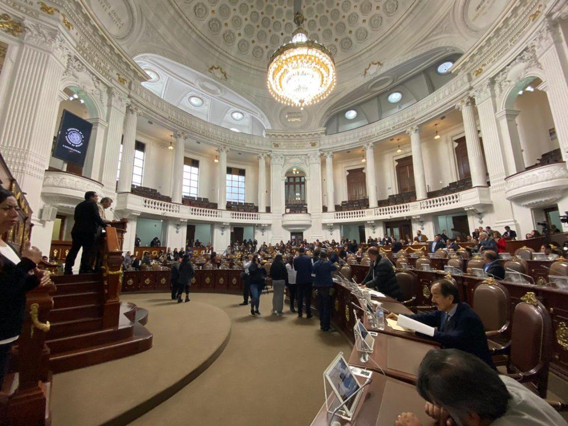 Diputados locales realizaron pronunciamientos en el Congreso CDMX sobre la situación de violencia por feminicidios