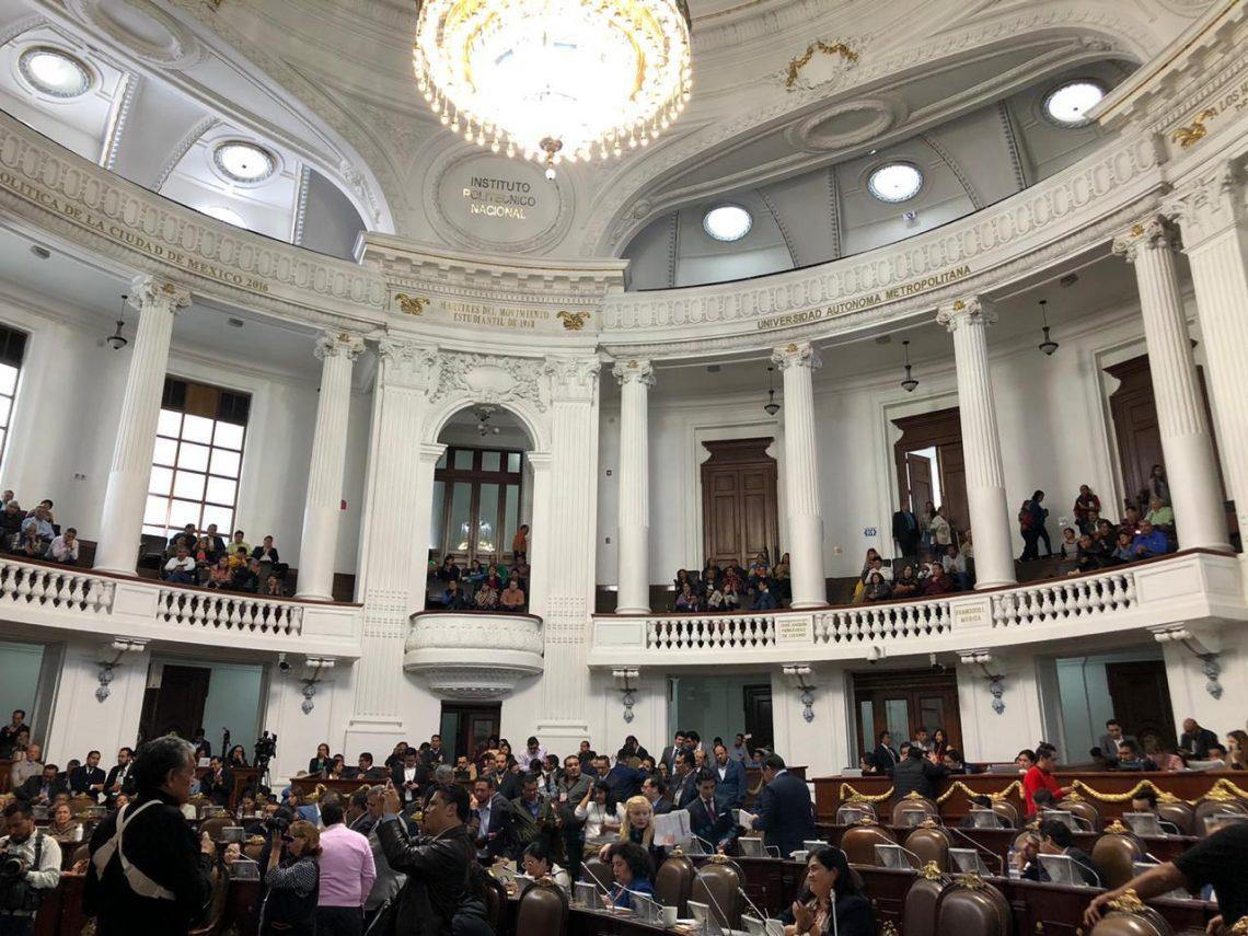 El Congreso local pide a autoridades capitalinas brindar asistencia social a hijos de mujeres víctimas de feminicidio
