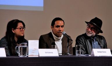 Presentan libro de Adán Medellín, ganador del Premio Bellas Artes de Ensayo Literario José Revueltas