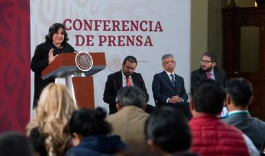 En inédito ejercicio de rendición de cuentas, secretaria Sandoval Ballesteros informa resultados de fiscalización en Conade y Sader