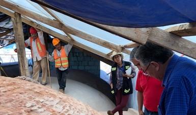 Concluye restauración de cubiertas de cuatro salas del Museo de las Culturas de Oaxaca