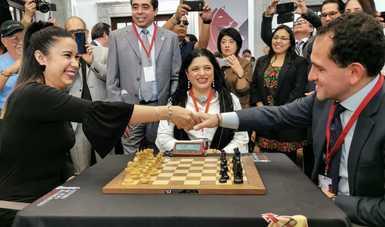 Inauguran el Centro de Alto Rendimiento de Ajedrez en el Complejo Cultural Los Pinos