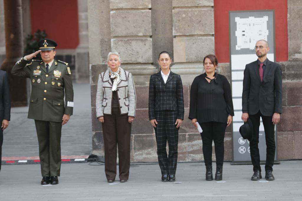 Asiste Jefa de Gobierno a la Ceremonia Conmemorativa por el 107 Aniversario Luctuoso de Gustavo A. Madero y Adolfo Bassó Bertoliat