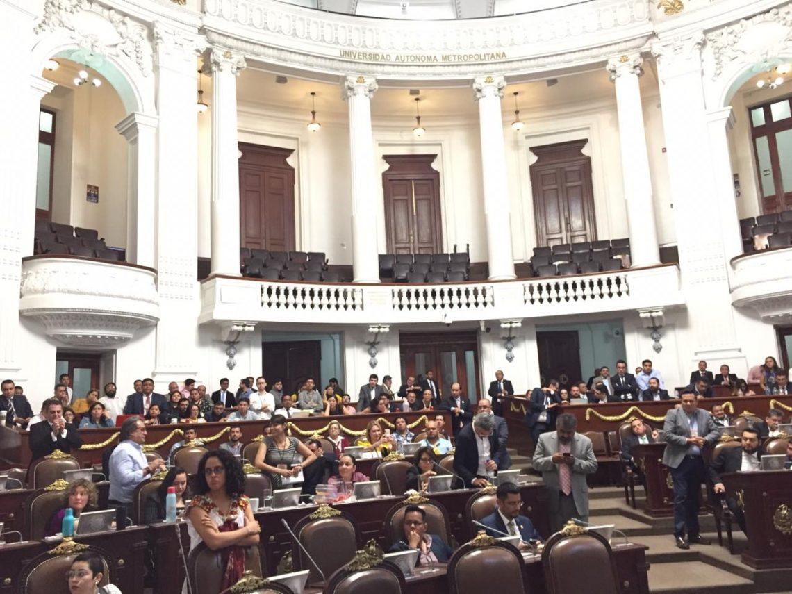 En el Congreso local presentaron iniciativas en materia de arrendamientos y en beneficio de personas interdictas