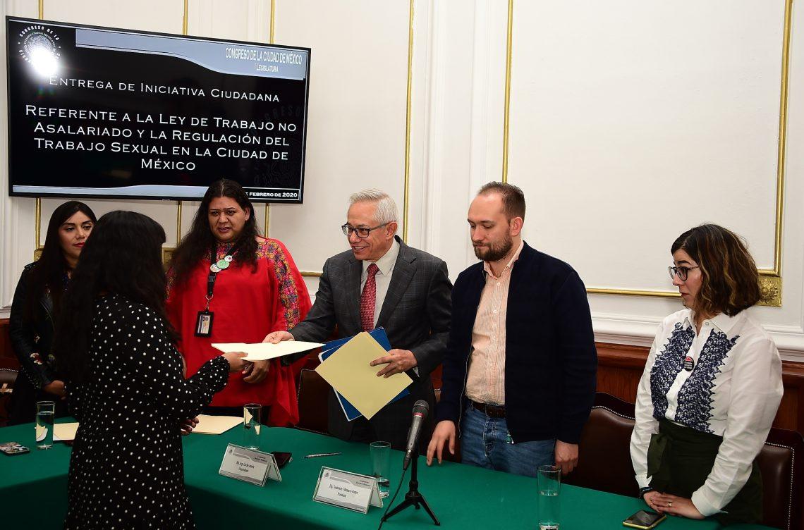 Reciben en el Congreso local observaciones ciudadanas al proyecto de Ley del Trabajo No Asalariado y Regulación del Trabajo Sexual