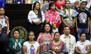 Reconoce Cámara de Diputados la diversidad de los pueblos indígenas con Las lenguas toman la tribuna, iniciativa de la Secretaría de Cultura
