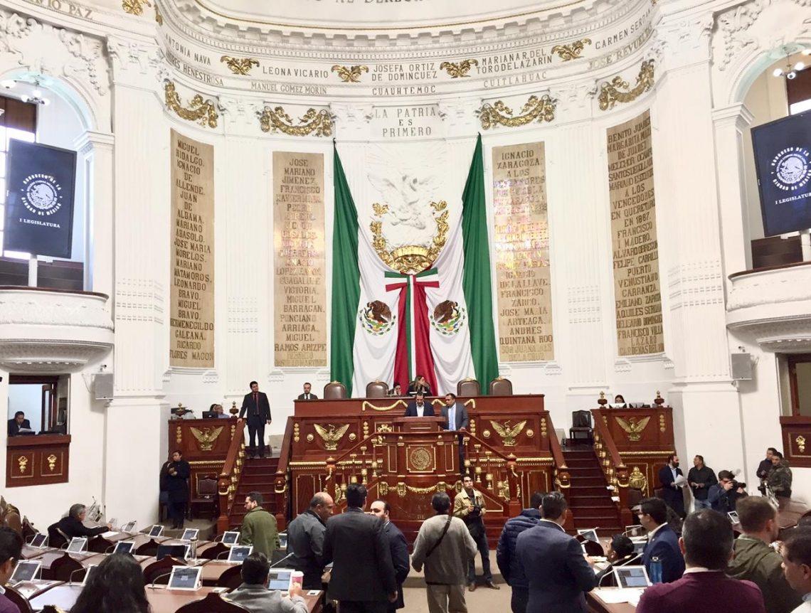 Por unanimidad, el pleno del Congreso de la Ciudad de México aprobó la Ley del Sistema Local Anticorrupción