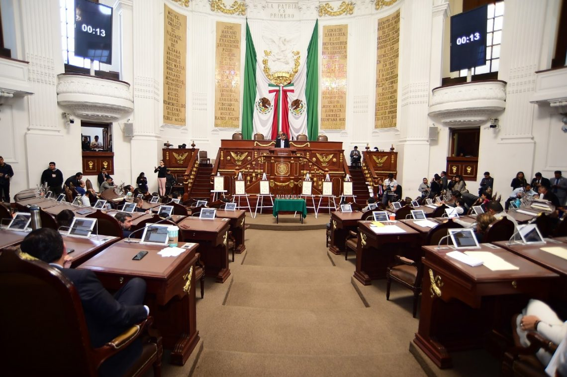 La Jucopo analizará la propuesta para reducir 400 millones de pesos al presupuesto 2020 del Congreso de la CDMX