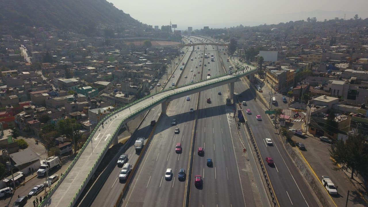 Inaugura Gobierno de la Ciudad de México el puente vehicular Emiliano Zapata en la Alcaldía Iztapalapa