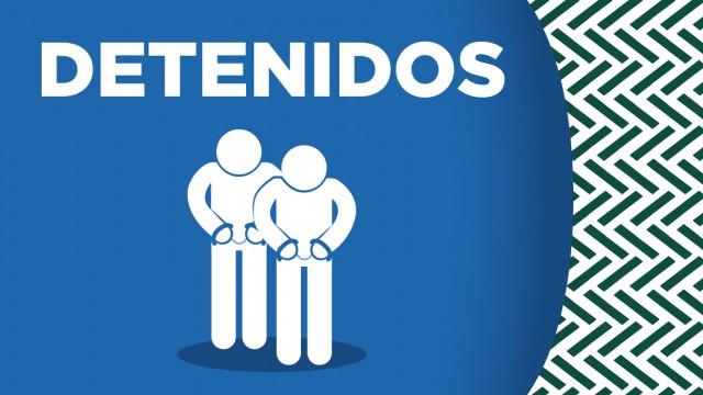 Cuatro probables extorsionadores relacionados con un grupo delictivo, fueron detenidos por personal de la SSC, en Álvaro Obregón