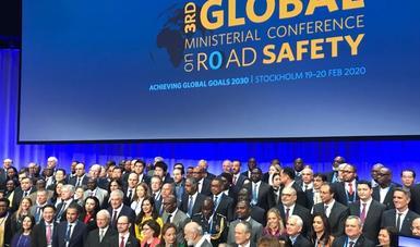 México se suma al objetivo mundial de reducir en 50% las muertes por accidentes viales hacia 2030