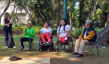 Concluye la primera jornada Rumbos para la Inclusión en Los Pinos