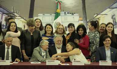 Cualquier política a favor de la niñez es por el futuro de México: secretaria Olga Sánchez Cordero
