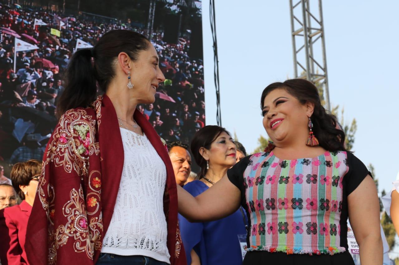 Destaca Sheinbaum Pardo acciones en Alcaldía Iztapalapa para disminuir desigualdades