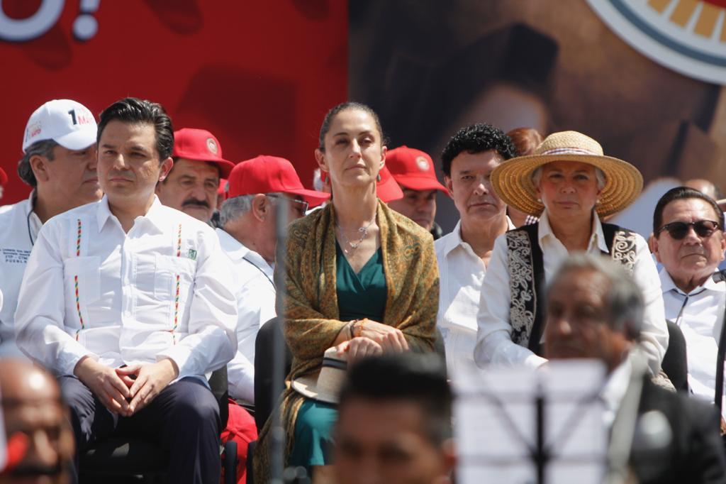 Asiste Jefa de Gobierno al 84 Aniversario de la Confederación de Trabajadores de México