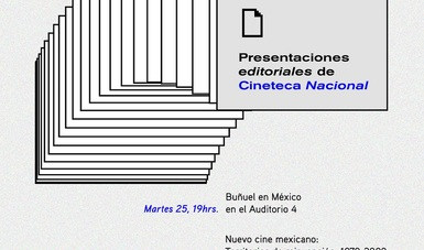 Cineteca Nacional presentará dos libros en la 41 FIL Minería