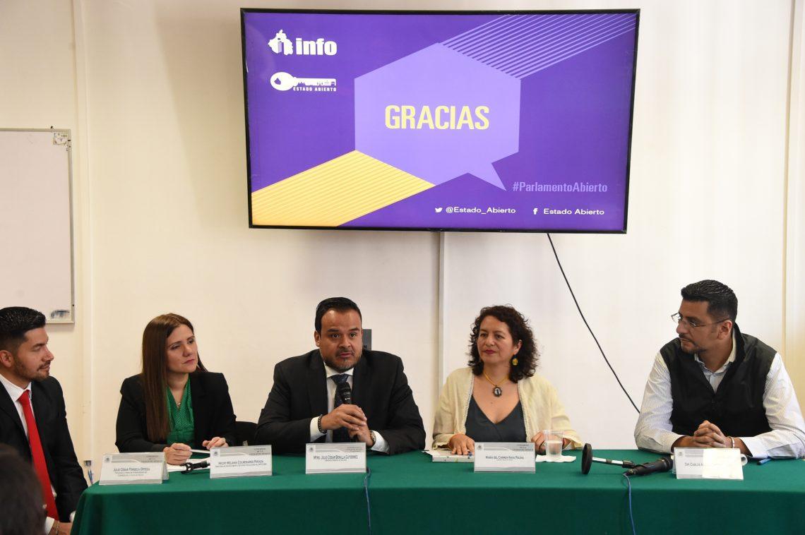 Realizan en el Congreso de la CDMX taller de asesoría técnica especializada en materia de Estado Abierto y obligaciones de transparencia