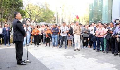 Mensaje del subsecretario Ernesto Acevedo Fernández en la firma del convenio de colaboraciónpara combatir sobrepeso, obesidad y diabetes