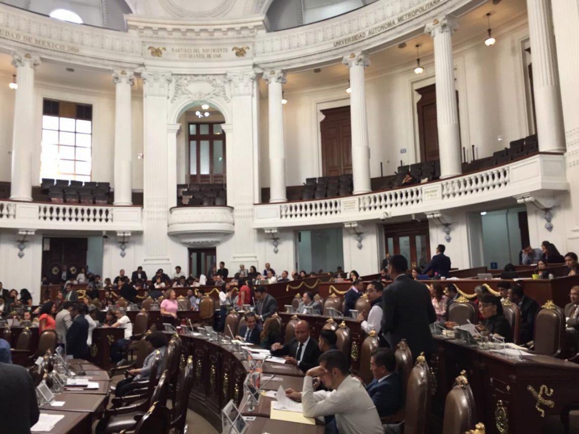 El Congreso local aprobó el dictamen para expedir la Ley de Capitalidad de la Ciudad de México