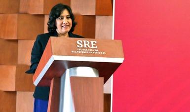 Anuncia secretaria Sandoval Ballesteros convocatoria de ingreso a la APF exclusiva para mujeres y reforma al Código de Ética
