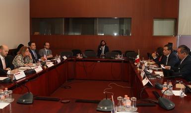 SSPC se reúne con GAO del Gobierno de Estados Unidos para fortalecer cooperación bilateral en el tráfico ilegal de armas de fuego