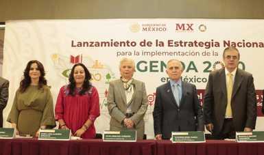 Presenta Gobierno de México la Estrategia Nacional para la implementación de la Agenda 2030
