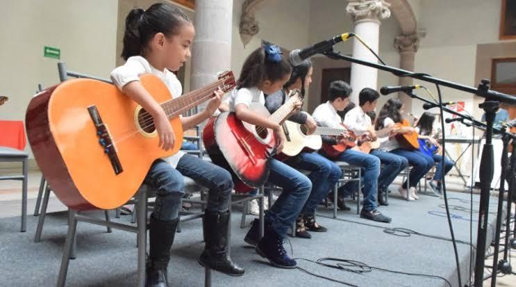 Centro de Formación Artística Guadalupe acerca a niños y jóvenes a la música y el canto