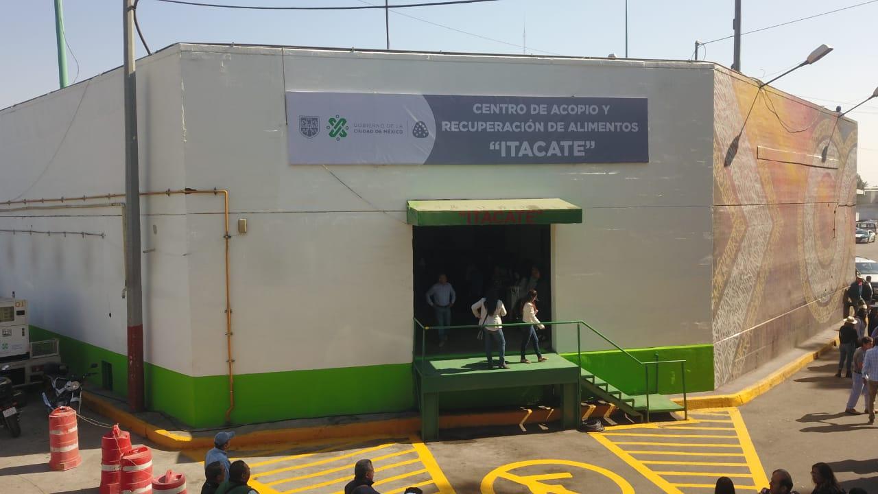 Inaugura Gobierno capitalino centro de acopio y recuperación de alimentos