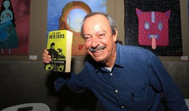 """Fritz Glockner presentará su libro """"Los años heridos"""" en el CECUT"""