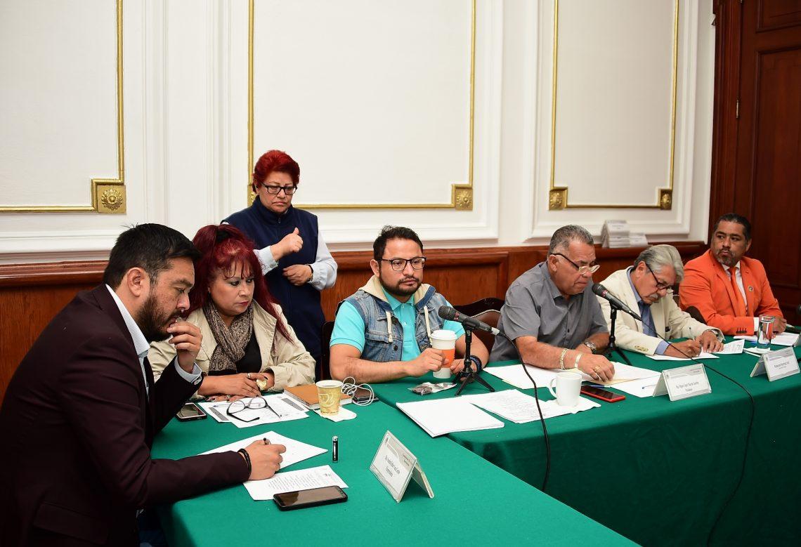 La Comisión de Movilidad Sustentable del Congreso local realizó coloquio interinstitucional