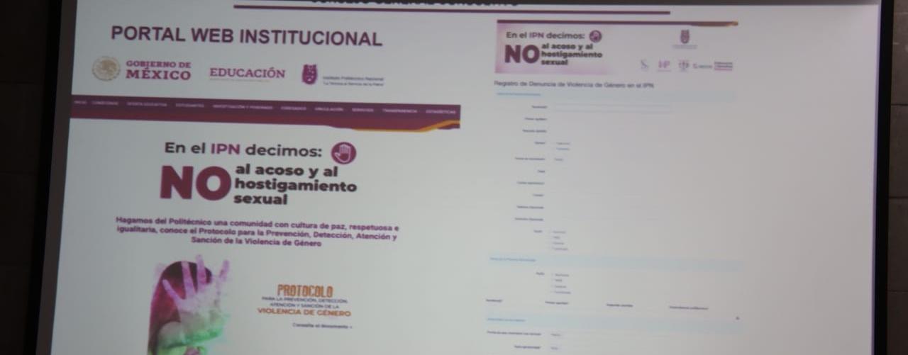 Implementará IPN Denuncia Electrónica Segura Contra la Violencia de Género