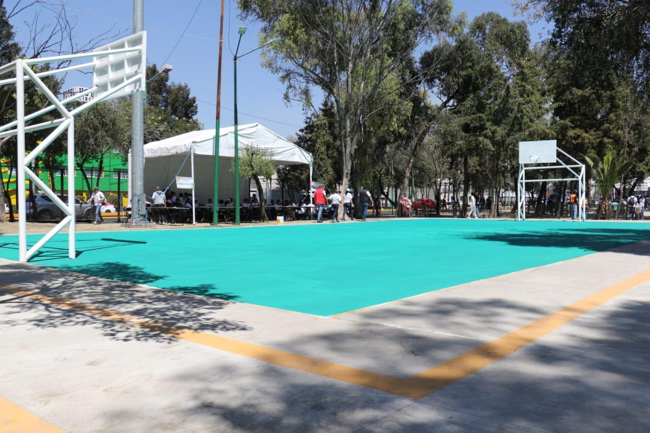 Encabeza Jefa de Gobierno inauguración del Parque Emiliano Zapata, en Gustavo A. Madero
