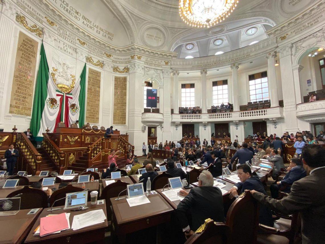 Plantean en el Congreso de la Ciudad de México reformar la Ley Orgánica del Poder Judicial y el Código Penal local