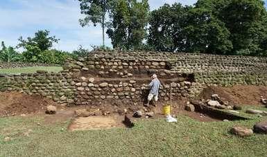 Izapa, una ciudad hecha de barro, es restaurada por el INAH