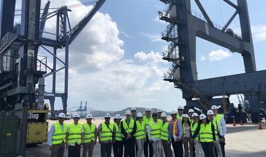 Visita a Panamá de funcionarios del Gobierno de México