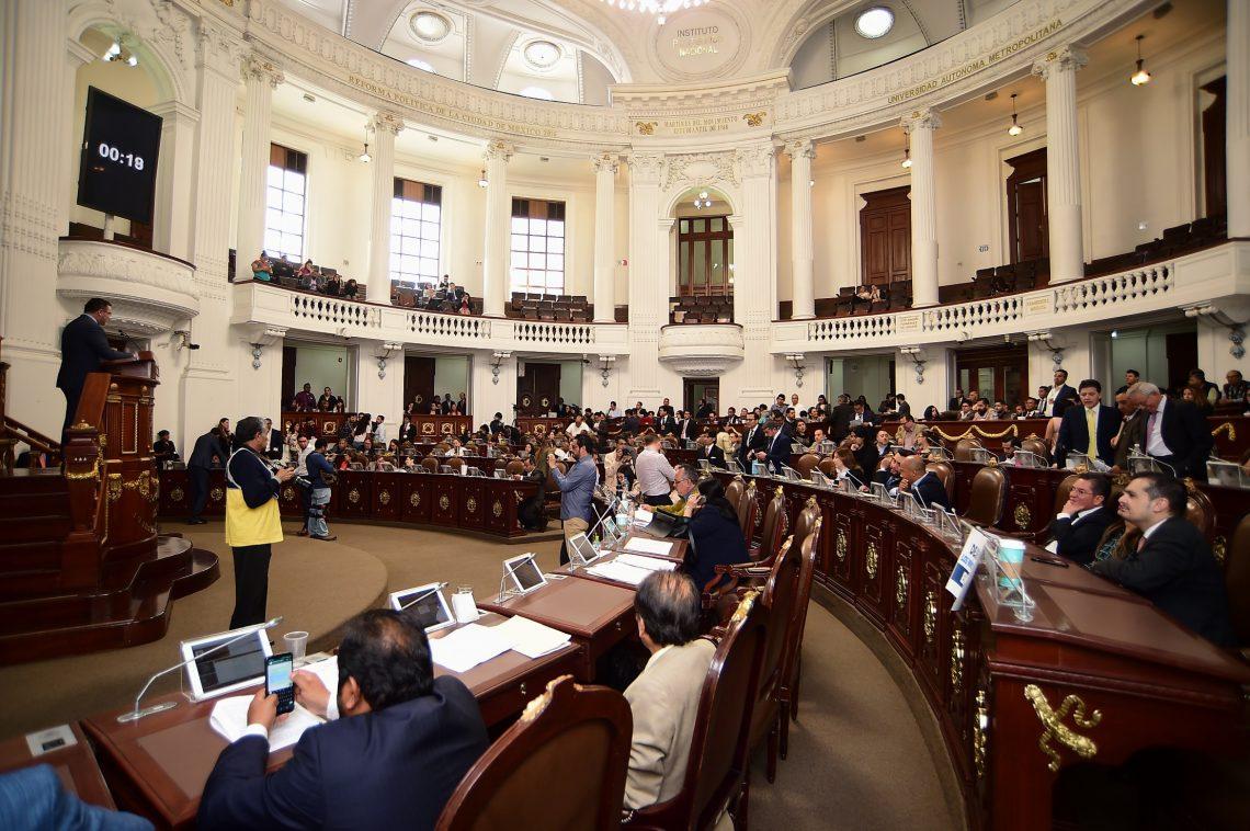 En el Congreso capitalino impulsan propuestas para reformar diversos ordenamientos federales