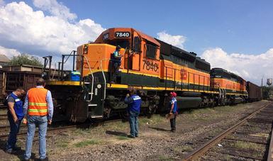 A la alza tráfico de carga ferroviaria  nacional e internacional