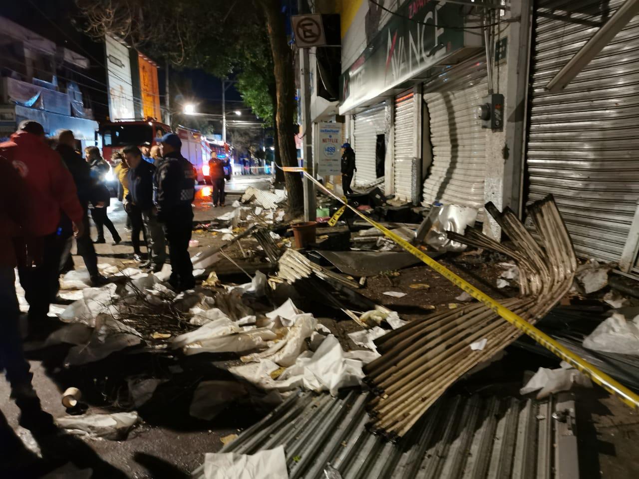 Se registra explosión en tortillería de Cuajimalpa