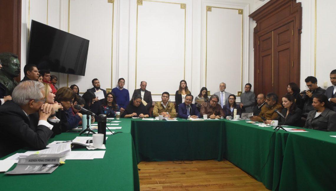 En comisiones unidas aprueban el dictamen para la creación del Registro Público de Agresores Sexuales de la CDMX