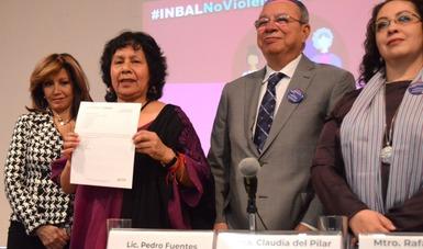 110 personas con cargos directivos del INBAL firman Pronunciamiento Cero Tolerancia a las Conductas de Hostigamiento Sexual y Acoso Sexual