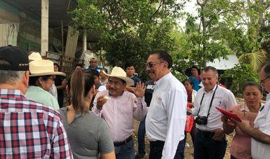 Se cumple el compromiso del presidente López Obrador; inicia el proyecto del Puente en Quintín Arauz, Tabasco: Escalante Sauri