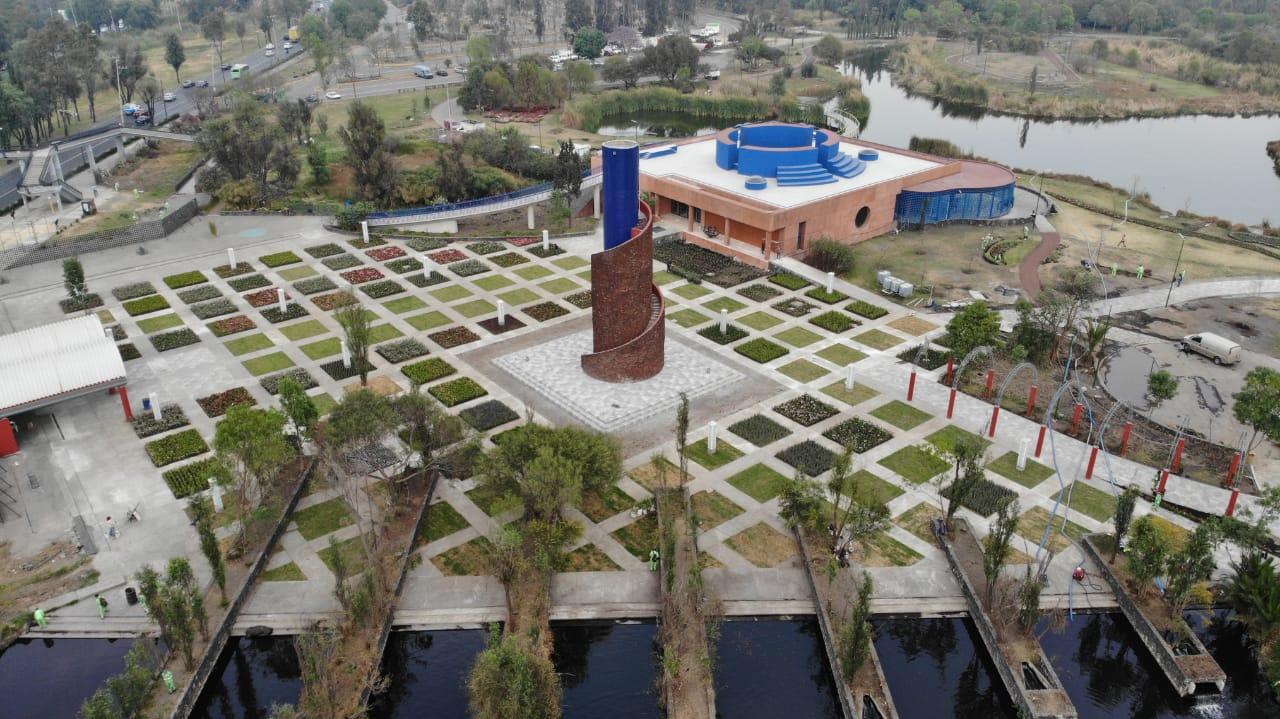 Entrega Gobierno de la Ciudad de México primera etapa de rehabilitación del Parque Ecológico de Xochimilco