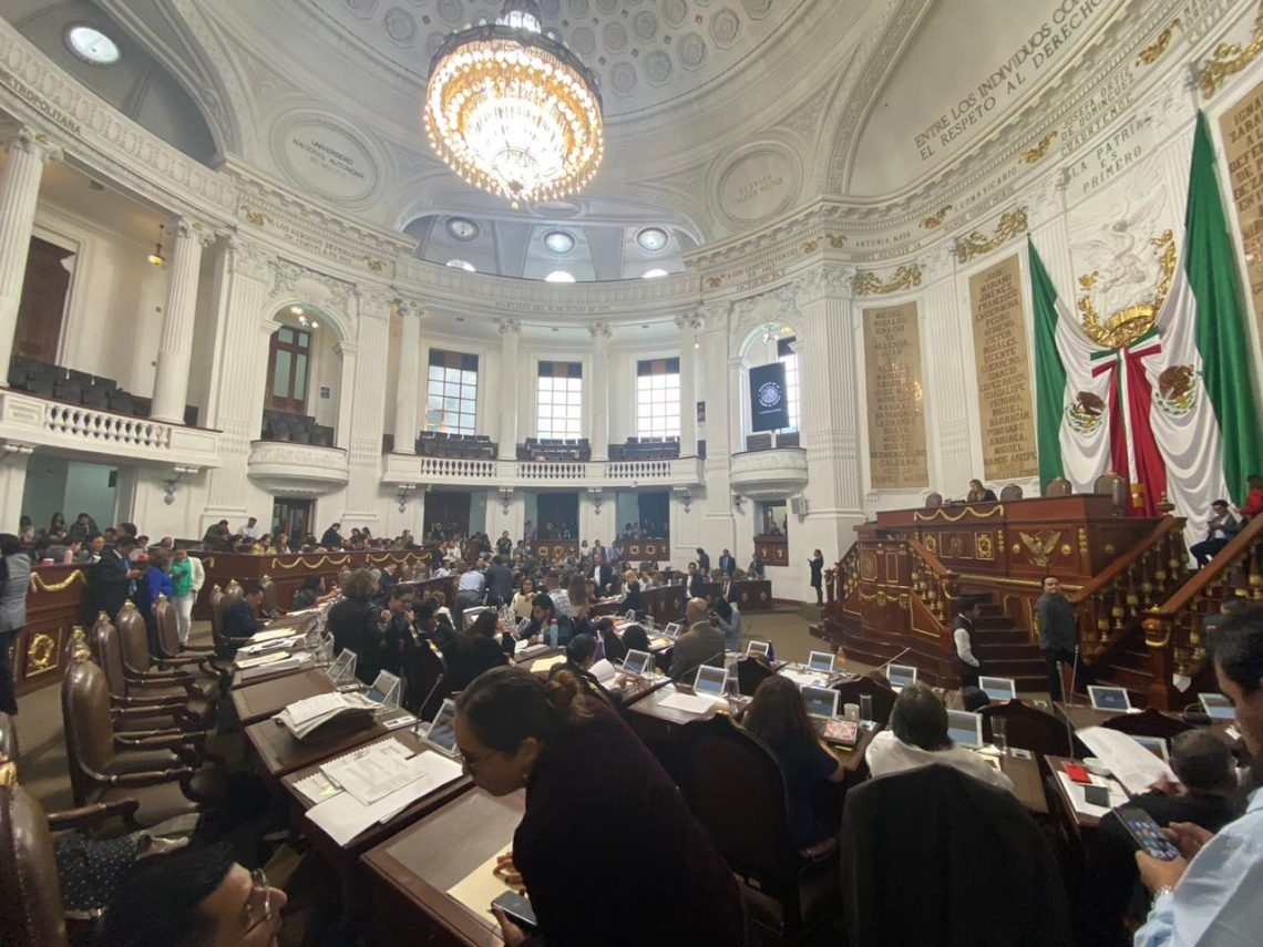 Presentan iniciativas para ser analizadas y discutidas en el Congreso de la Unión