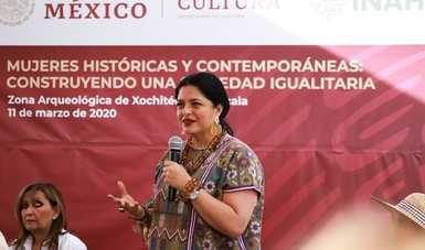 Destinará Secretaría de Cultura 9 millones de pesos para revitalización de Xochitécatl