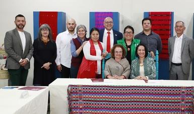 Firman convenio Fonart y Profeco por el consumo de objetos artesanales en oficinas gubernamentales