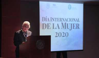 Palabras de la secretaria Olga Sánchez Cordero, en el Tribunal Federal de Justicia Administrativa