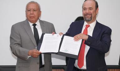 Firma Instituto Nacional de Migración convenio general de colaboración con Anuies