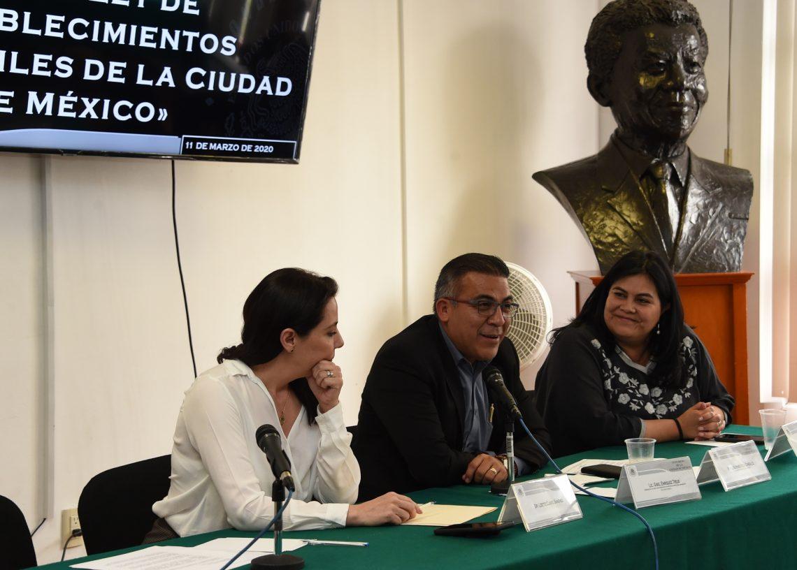 Realizan Conversatorio  hacia la creación de una nueva Ley de Establecimientos Mercantiles de la Ciudad de México