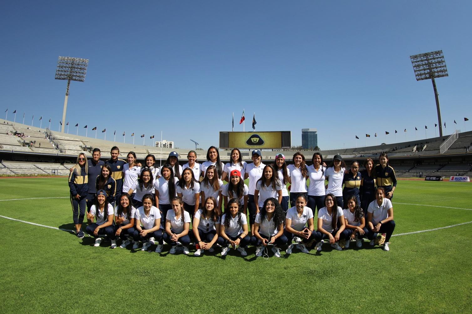 """En el marco de """"Tiempo De Mujeres"""" Se realiza histórico juego en el Estadio Olímpico Universitario"""
