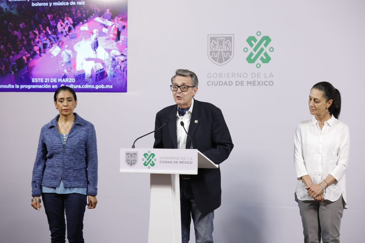 Gobierno capitalino transmitirá virtualmente Festival Noche de Primavera